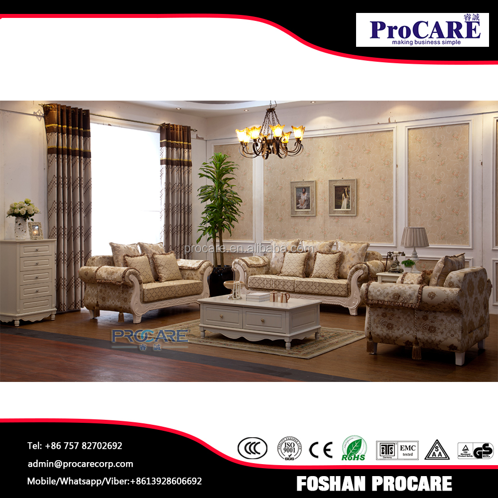 Top selling living room furniture sofa set for villa house