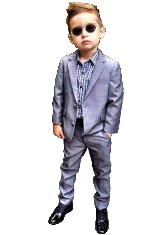 35ec8bb000a Get Quotations · SIPEI Boys Slim Fit 2 Button 2 pc Suits sets party formal  occasional graduation