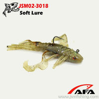 With Lead Squid Shape Soft Fishing Lure JSM02-3018