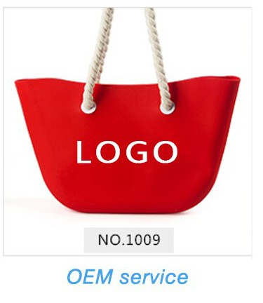 Fashion silicone shopping bag Waterproof Beach Bags Women Handbags