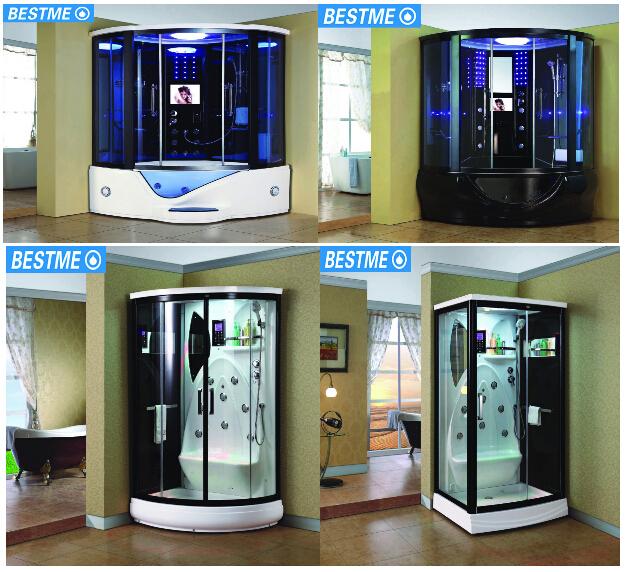 Luxury Glass Door Home Sauna Steam Room Combination ...