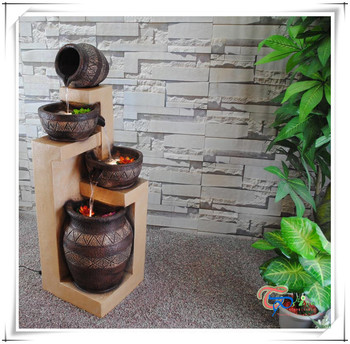Indoor Decorative Fountains Beautiful resin tall decorative indoor balcony water fountain buy beautiful resin tall decorative indoor balcony water fountain workwithnaturefo