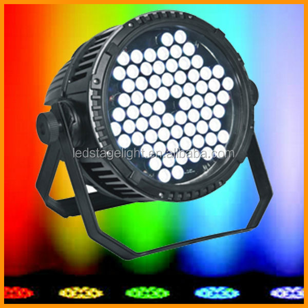 outdoor stage light/72PCS IP65 LED round wall washer