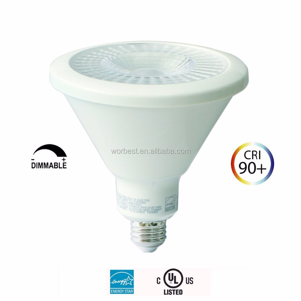 Dimmable Ul Par38 Led 15 Watt Cob Light Bulb 3000k Warm White ...