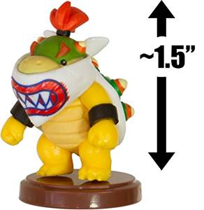 """Bowser Jr.: ~1.5"""" New Super Mario Bros. Wii Choco Egg Mini Figure Series [NO CANDY] (Japanese Import)"""