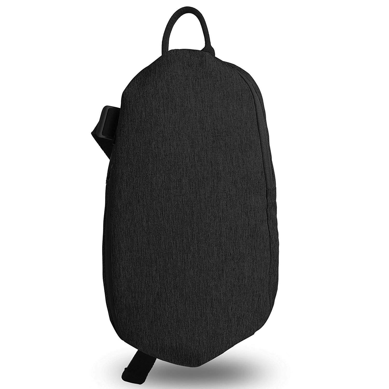 Zpoint Fashionable Messenger Bag Shoulder Bag Travel Daypack for 10 Inch Laptop, Tablet, Macbook, Notebook, Ultrabook(5061Dark Grey)