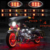 LED Single Color Motorcycle Accent Glow 5050 Waterproof Flexible Strips light kit with Remote Controller
