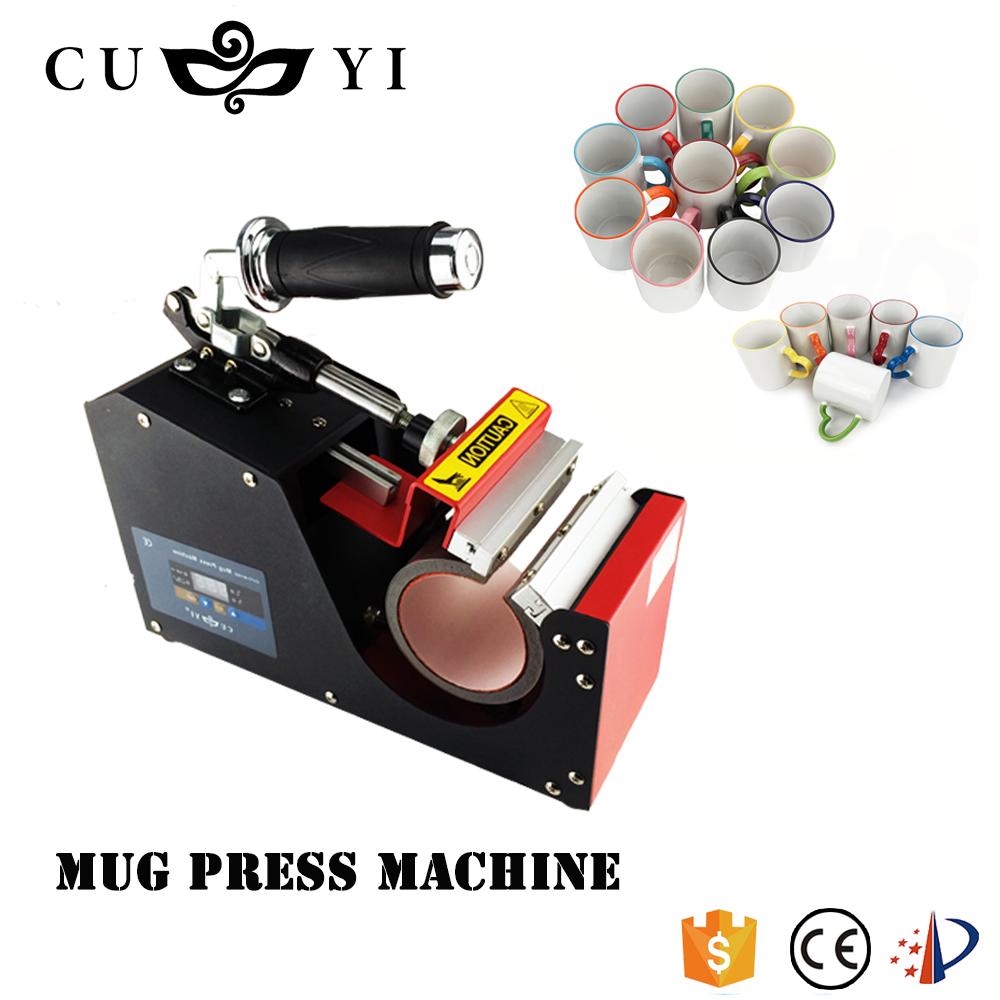 CUYI mug press machine printing machine for mug sublimation