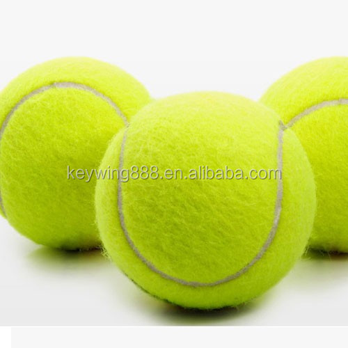 custom print 2.5 inch tennis ball for promotion ad