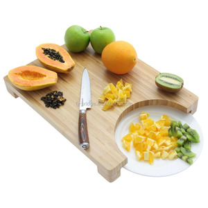 Bamboo Large chopping Board and Plate Cutting Board 40x30cm