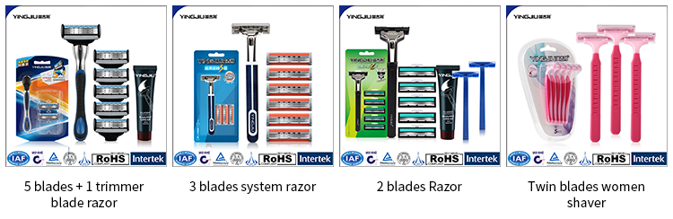 Disposable razor production line men's shaving blades with blister card disposable hotel razor