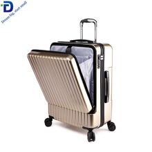 LG3566 Business reisen pc trolley 4 rad spinner gepäck mit laptop fach