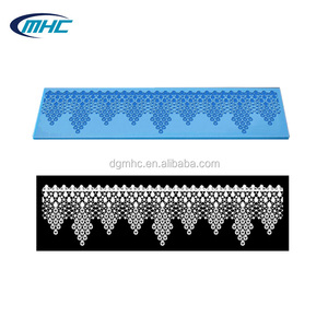 3D silicone sugar icing lace mat for cake, cake decorating suppliers