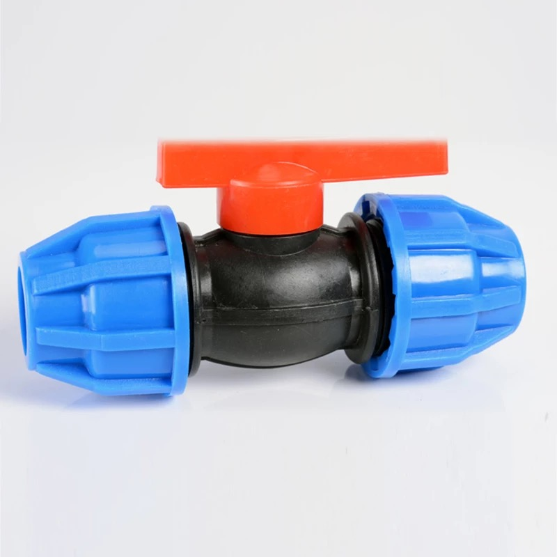 Pp Compression Coupling Fittings For Hdpe Pvc Pipe Connection Pn10
