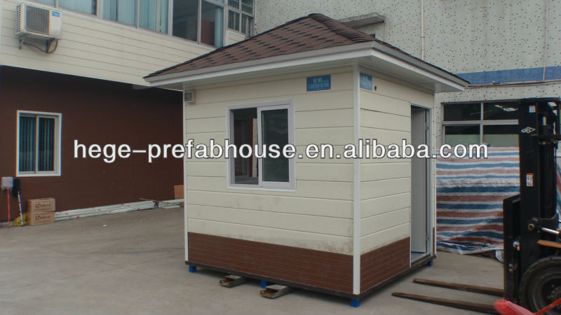 Mobile kiosk, Portable sentry box, guard house