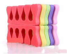 10pc set Soft Sponge Toe Finger Separator Dividers Bunion Toe Separator Nail Polish Separator