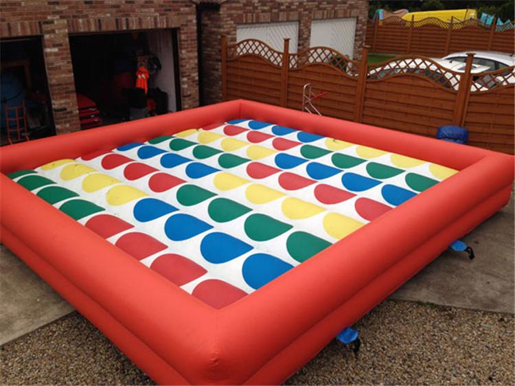 Gigante Inflable Twister Para Adultos Pop Juegos De Patio Inflable