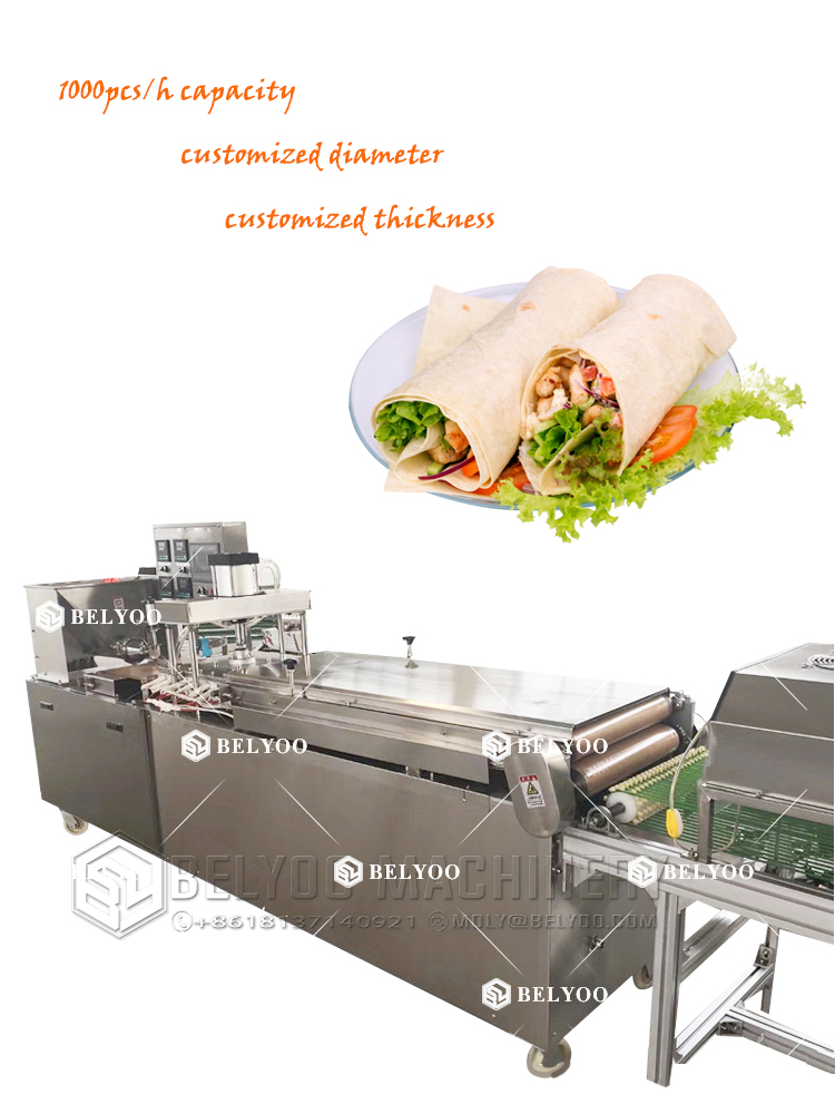 Chapatti making machine roti maker machine spring roll sheet making machine