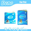 Absorbent disposable pet pads with blue color
