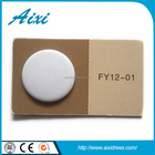 High quality spray painting color resin plastic snap button for jean