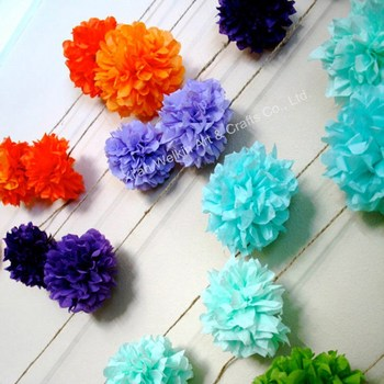 Paper pom pomshanging paper flower ballcheap paper flowers buy paper pom poms hanging paper flower ball cheap paper flowers mightylinksfo