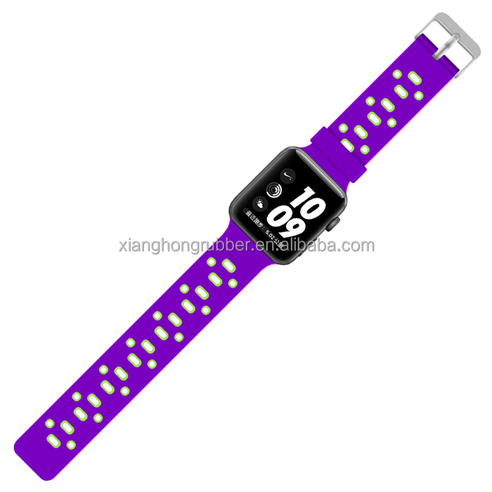 Replacement Silicone Sport Band Bracelet Strap For Apple Watch Series