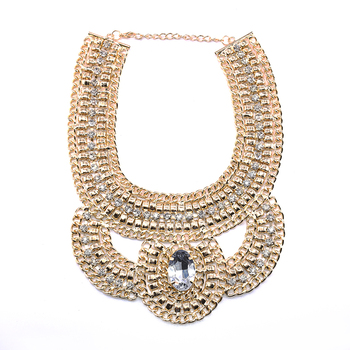 Fake Gold Jewelry Designs Chunky Chain Link Necklace Wholesale Buy