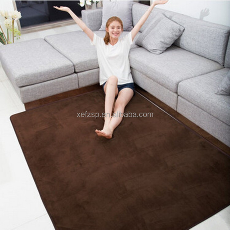 microfiber anti-fatigue floor polyester game play carpet mat for adult