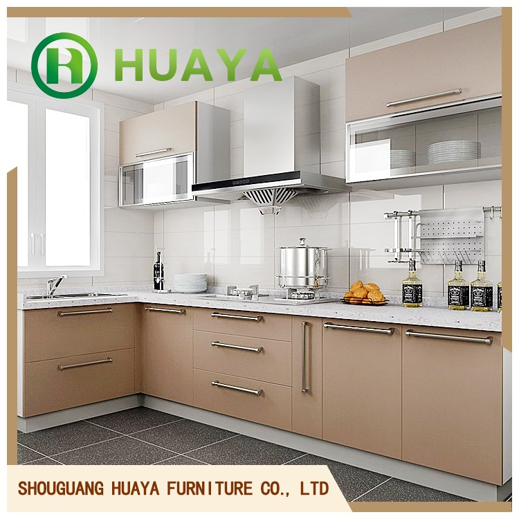 Factory wholesale cheap price acrylic kitchen cabinet for Cheap kitchen carcass