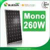 Bluesun High quality solar panel 24v 250w 260w 270w china land solar panel