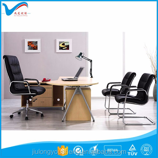 Modern multifunctional lift height adjustable black leather executive office chair swivel for office furniture YS322