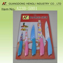 new products 2014 of non-stick knife with blister packging