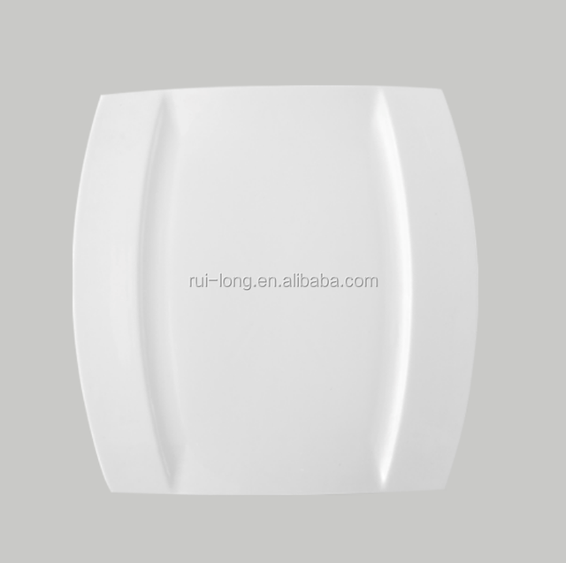 Dinnerware Cheap Wedding Plates Square Disposable For Catering