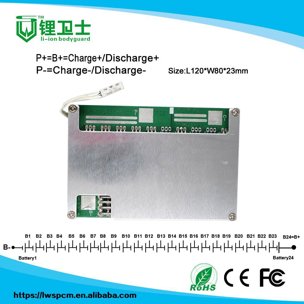 High Quality Oem 7s 20a 4s 30a programmable bms