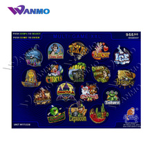 Multi Slot PCB GAME XXL 17 in 1 multi Game gokken board met hoge win rate 90-96%