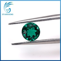 High quality round brilliant cut emerald stone prices