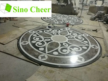 italian marble prices waterjet marble laminated floor tile black and white design tile