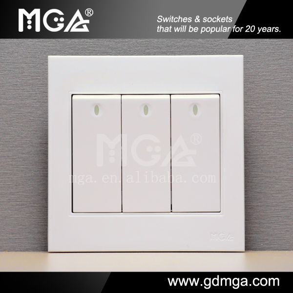 Funky Household Switches Illustration - Electrical Circuit Diagram ...