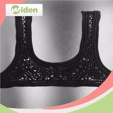 Trendy Ladies Collar Neck Designs, Front Collar Lace, Cotton Chemical Neck Lace