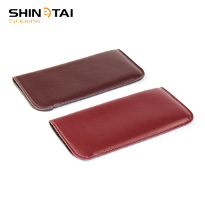 Famous Products Optical Frame Eyeglass Accessories PU Leather Glasses Case Pouch