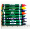 8/Pkg Water soluble Jumbo Sized Chunky Crayons Designed for Little Hands