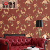 China famous wallpaper companies brand manufacturer produce interior 3d wallpapers(CL-11107)