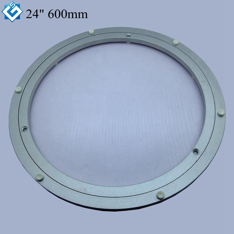 Diameter 300mm Aluminum Lazy Susan Turntable Bearings For Dining-table