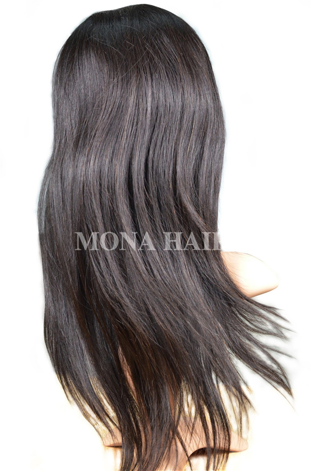 Good Quality Human Hair Full Lace Wig 50
