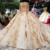Jancember LS05656 wedding dress gold vestidos de fiesta largo applique golden off shoulder wedding gown