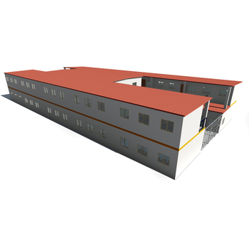Prefab Fast Install Building Steel Structure Prefabricated Hotel School Dormitory Construction Projects Drawing Design