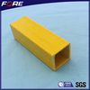 FRP Profiles,density of frp material,High quality fiberglass square tube round tube for construction