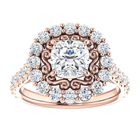 Wholesale SJE093 SJ Luxury Filigree Jewelry Ring AAA Cubic ...