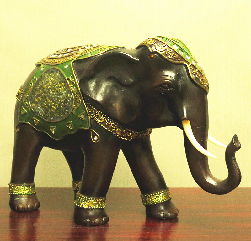Thai Wedding Gifts: Thai Elephant Ornaments Thai Crafts Southeast Asian Style