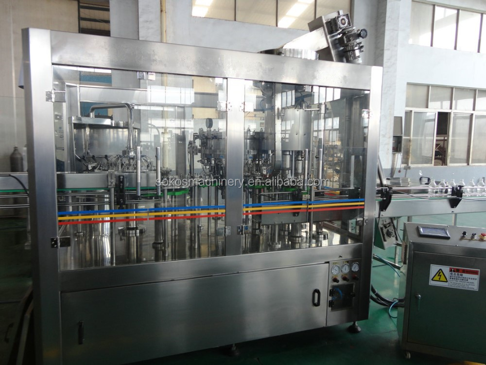DCGF 8-8-3 Carbonated drink Filling Washing Capping Machine